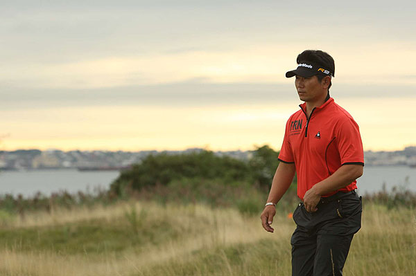is at even par in his first event since taking down the world's No. 1 player.