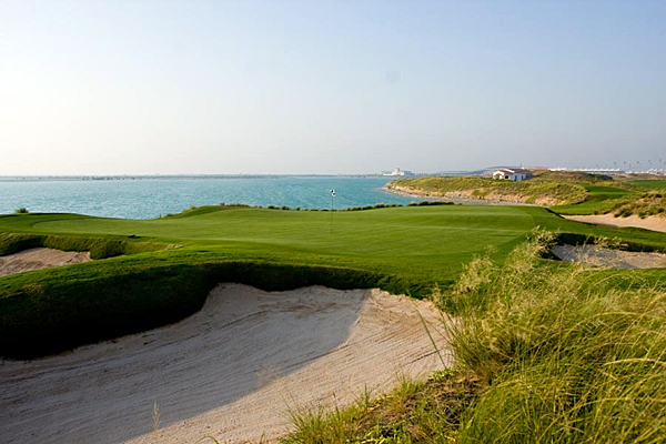 Yas Links | Yas Island, Abu Dhabi, UAE                             7,394 yards, par 72                             971 2810 7777, yaslinks.com