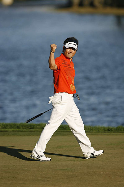 Final Round of the Honda Classic                           Y.E. Yang won his first PGA Tour tournament Sunday, finishing at nine under par.