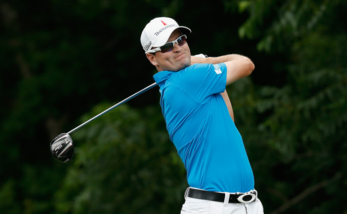Zach Johnson made three birdies and a bogey for a 68.