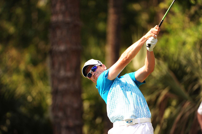 Zach Johnson finished at seven under par.