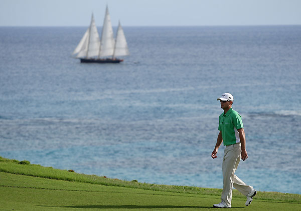 In October, Johnson joined the other three major winners at the PGA Grand Slam in Bermuda.