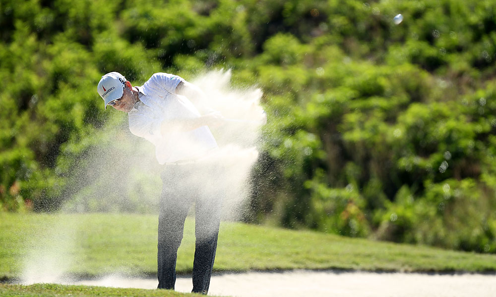 Johnson made five birdies on the back nine for a 66.
