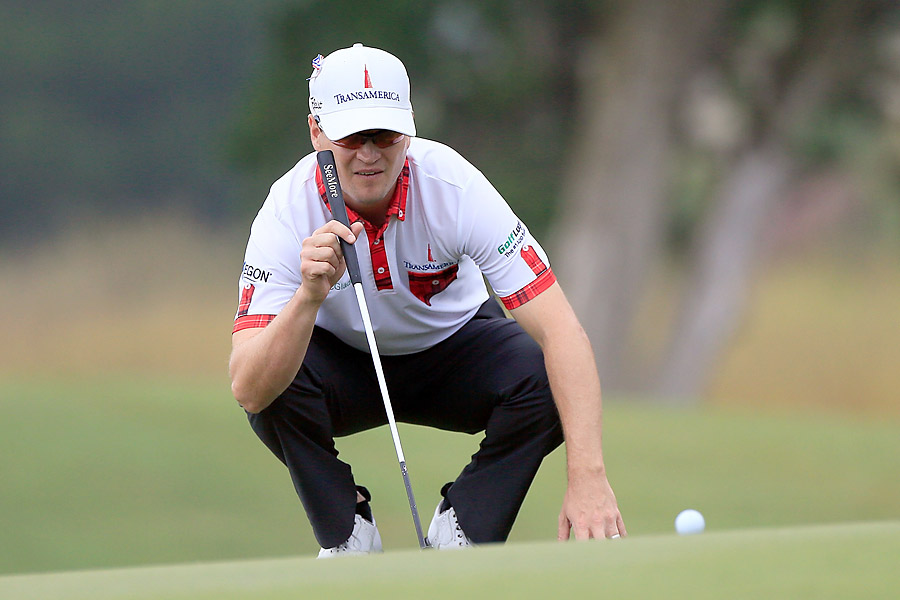 Zach Johnson, who lives on Sea Island, also had a 65.