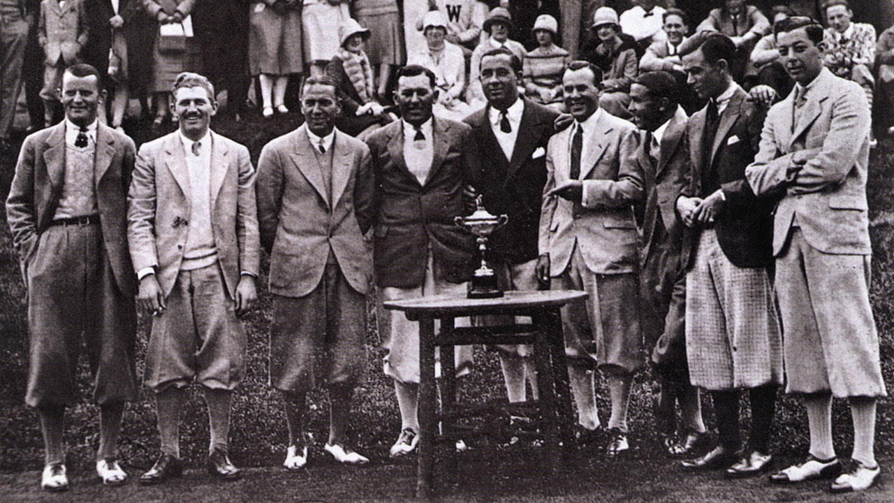 Ryder Cup History Results