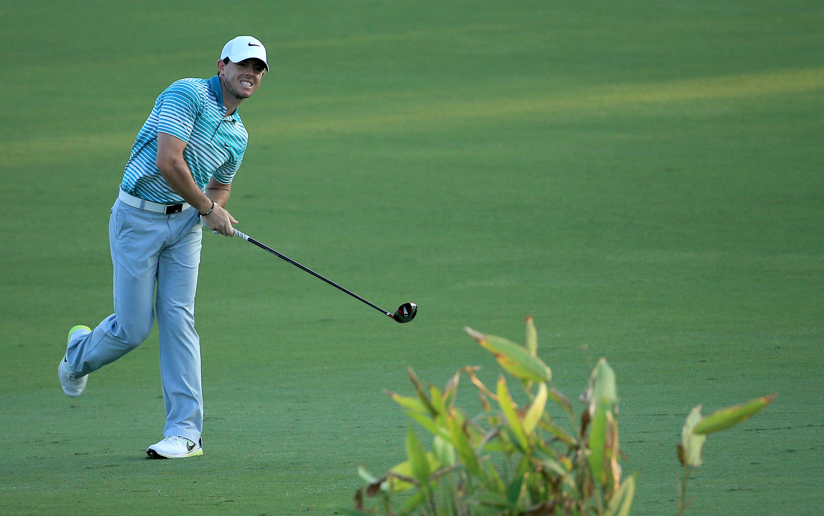 Rory McIlroy during the second round of the 2014 DP World Tour Championship