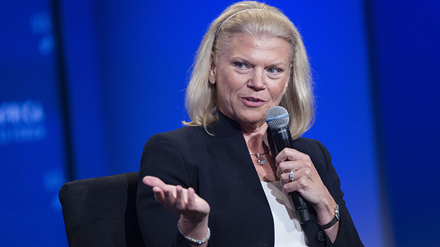 Ginni Rometty, chairman, president and CEO of IBM speaks at the US-Africa Business Forum in Washington, D.C. on Aug. 5, 2014.