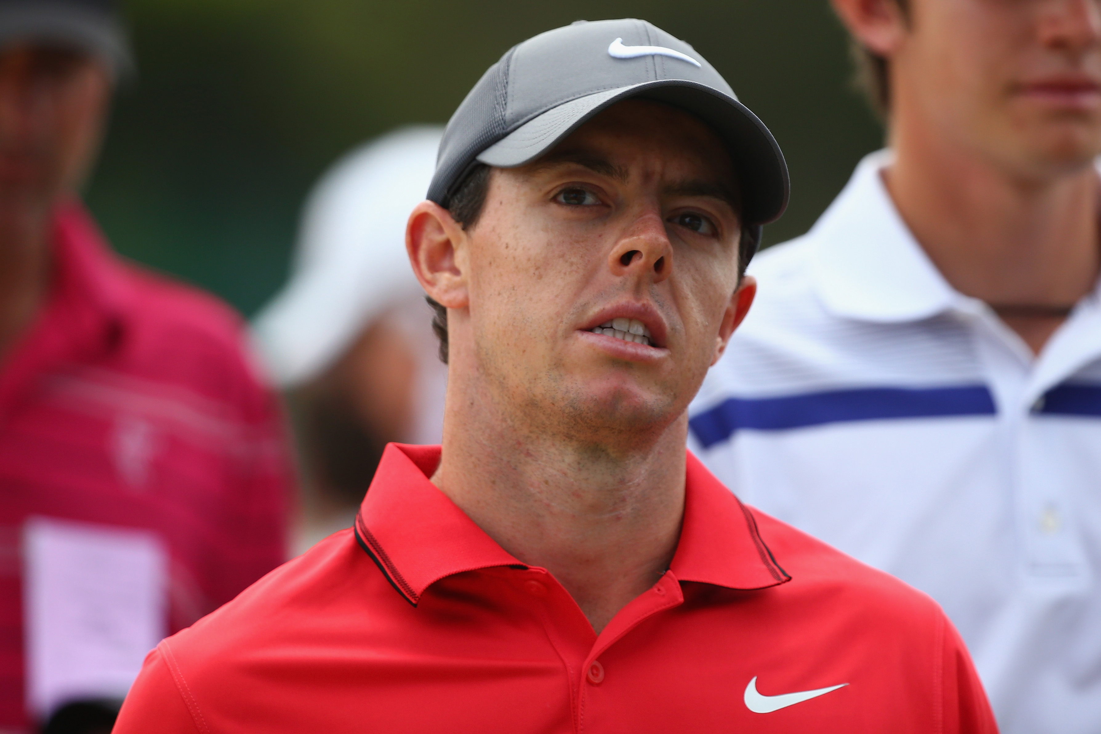 Rory McIlroy at the 2014 Australian Open