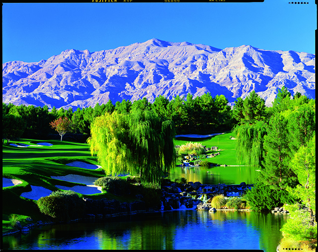 No. 18 at Shadow Creek in Las Vegas, Nev.