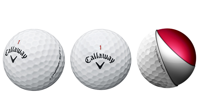 Callaway Soft Chrome Golf Balls