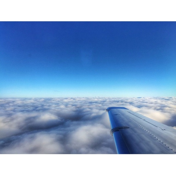 Cloud surfing my way into NYC on @wheelsup8760...can't wait to see you @alexis.randock #WheelsUp #CitationXL #WheelsUpPuttsDown