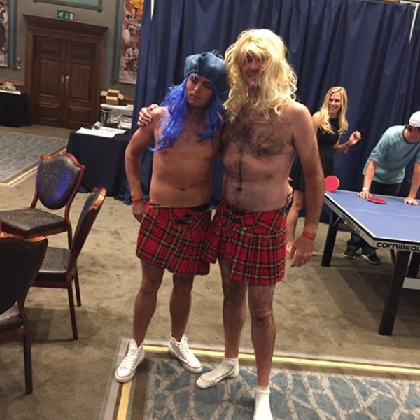 """Hunter Mahan's tweet was some of the first evidence of a Ryder Cup after-party night well spent. Hunter: """"What just happened?"""""""