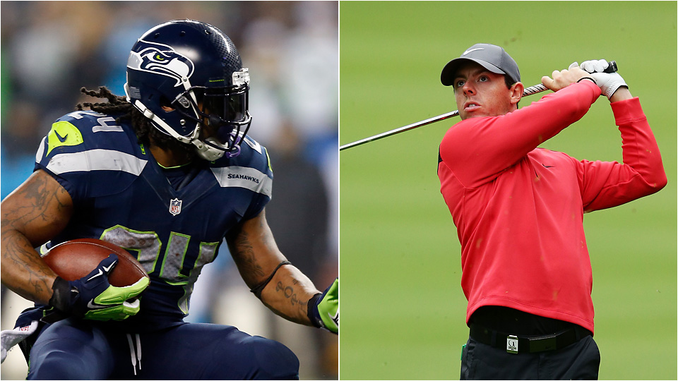 Rory McIlroy said he respects the decision of athletes like Marshawn Lynch who choose not to interact with the press.