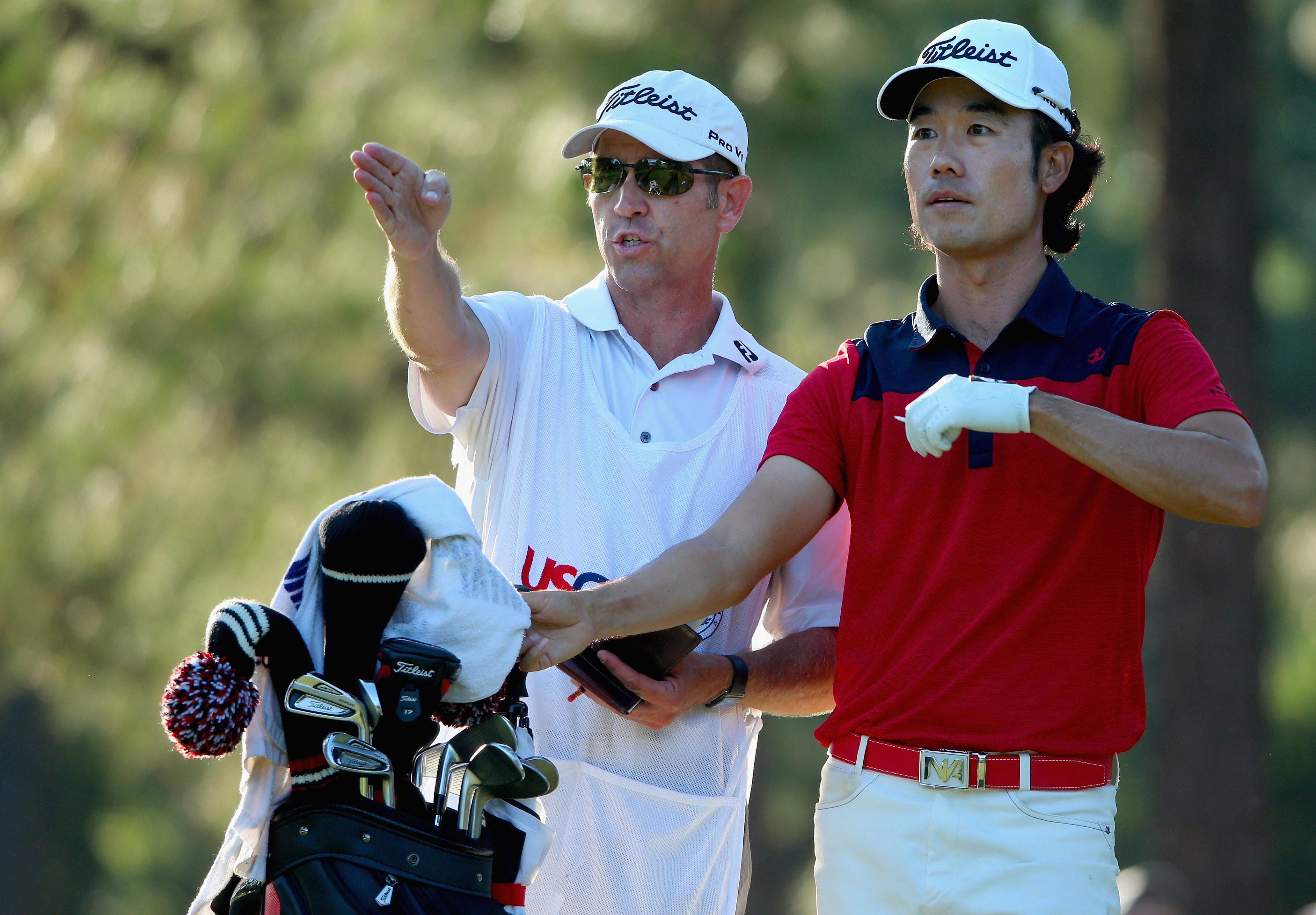 Kenny Harms has been caddying for Kevin Na since 2009.