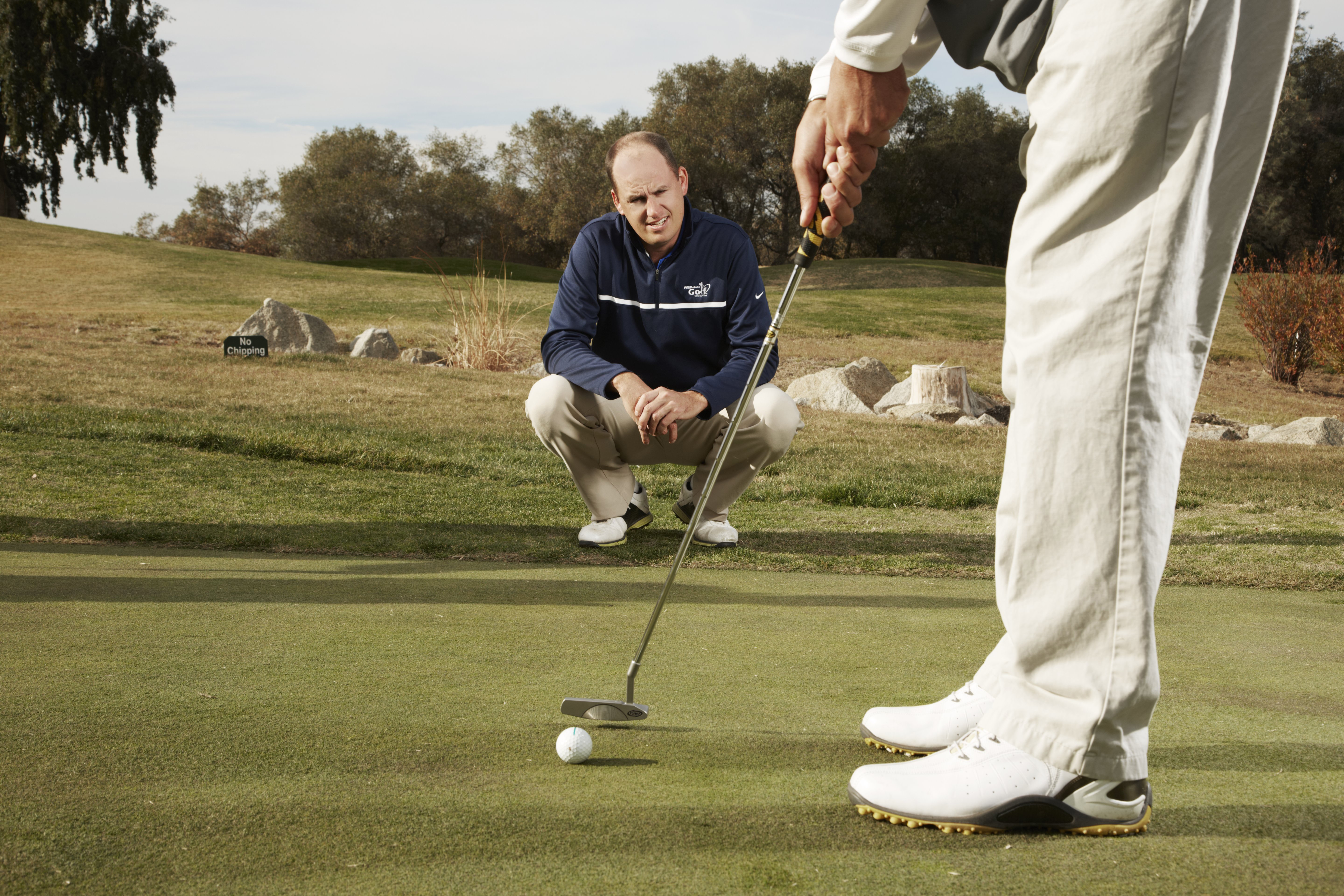 Robins believes traditional teaching dogma is too technical. He helps his students hone their natural swing shape and save strokes on and around the greens.
