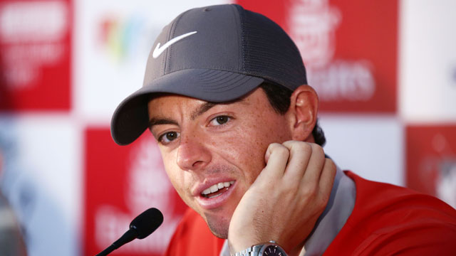 Rory McIlroy has displayed an ease with the media throughout his young career.