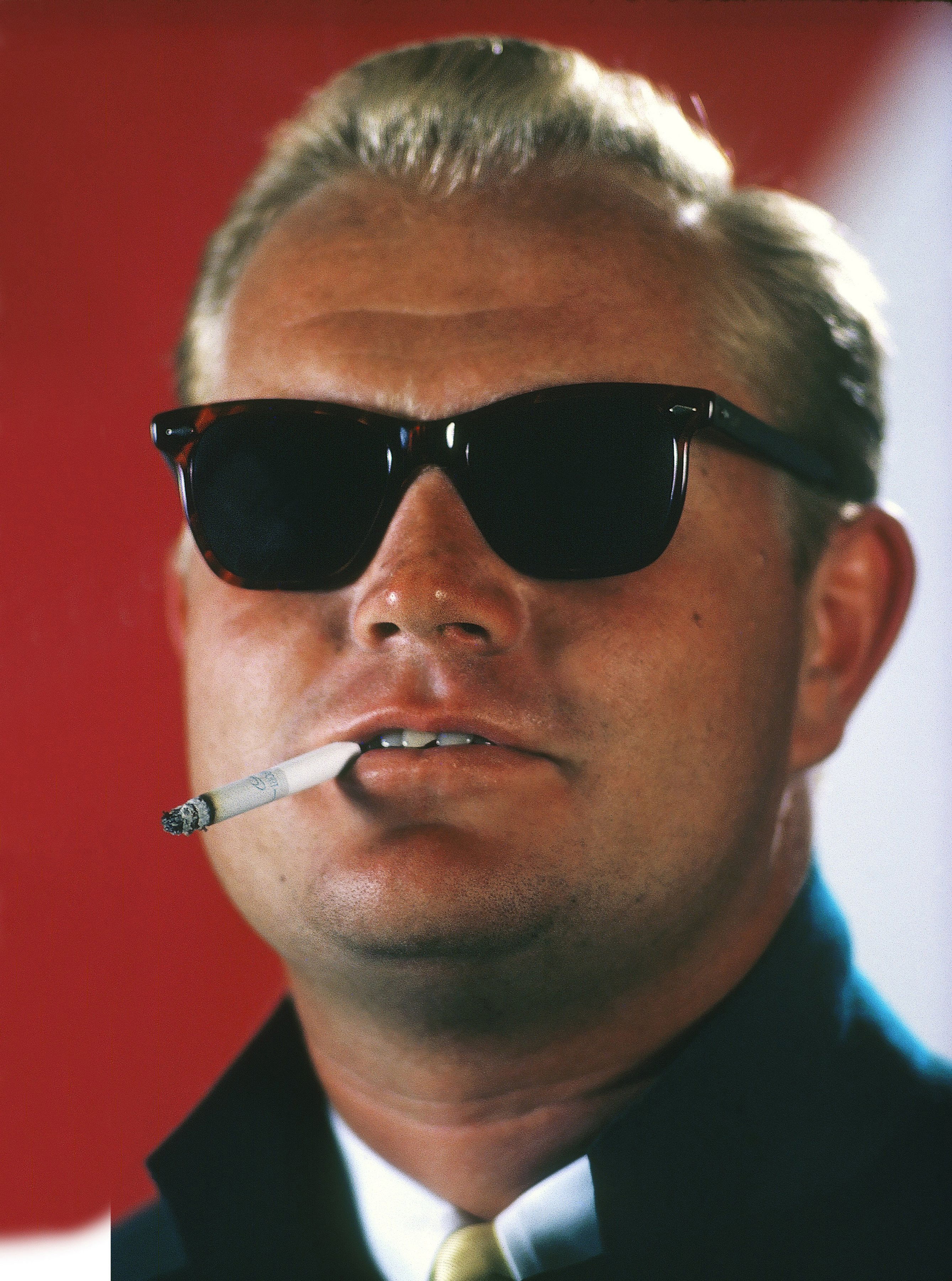 Jack Nicklaus channels Jack Nicholson in this 1967 photo.