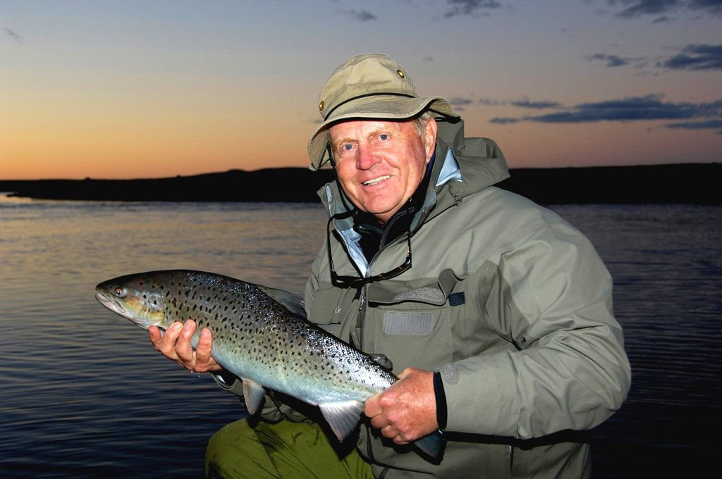 Jack Nicklaus often says he enjoys fishing more than golf these days.