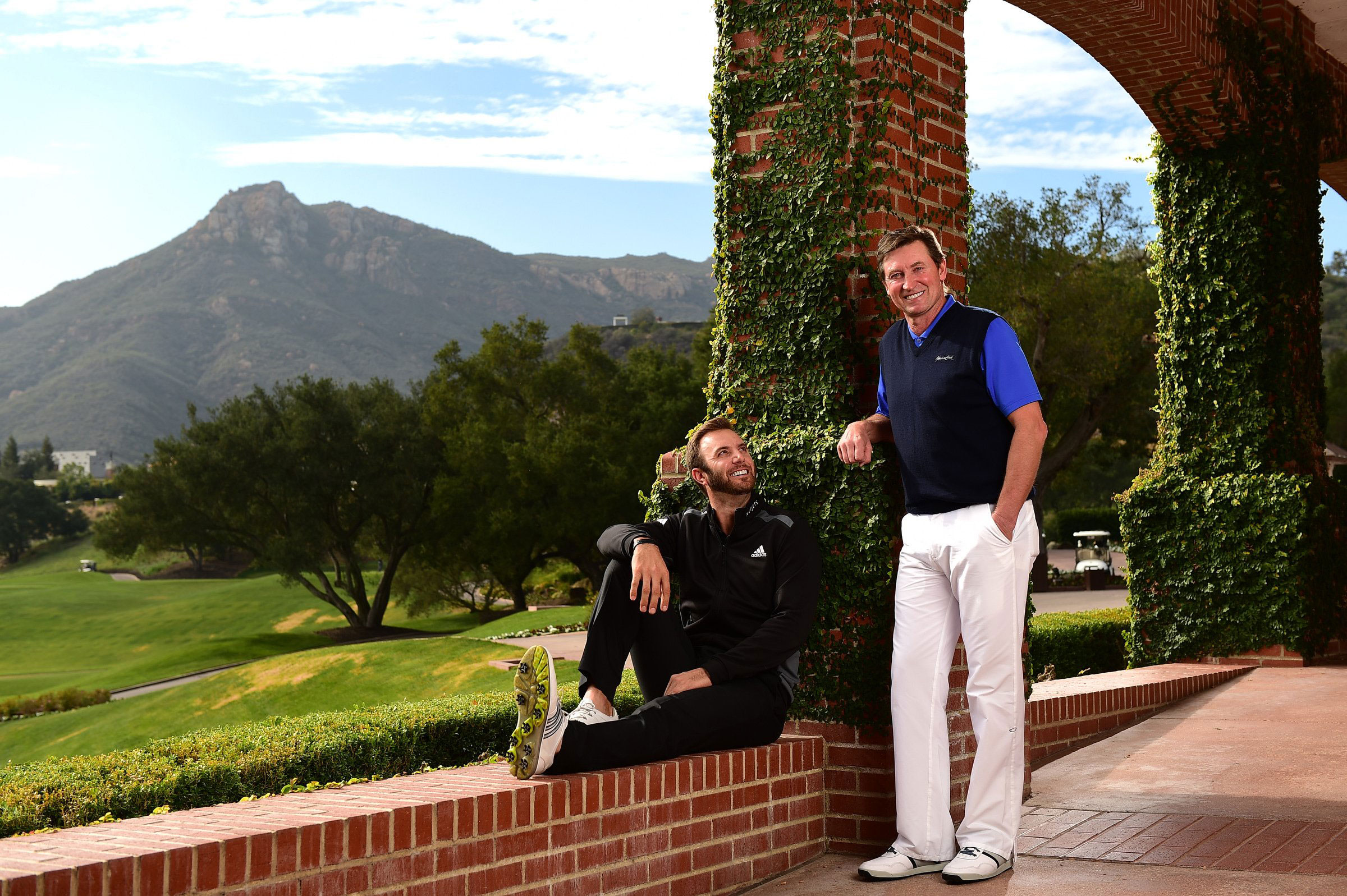 In Wayne Gretzky, Dustin Johnson has a father figure who can teach him a thing or two about handling fame.
