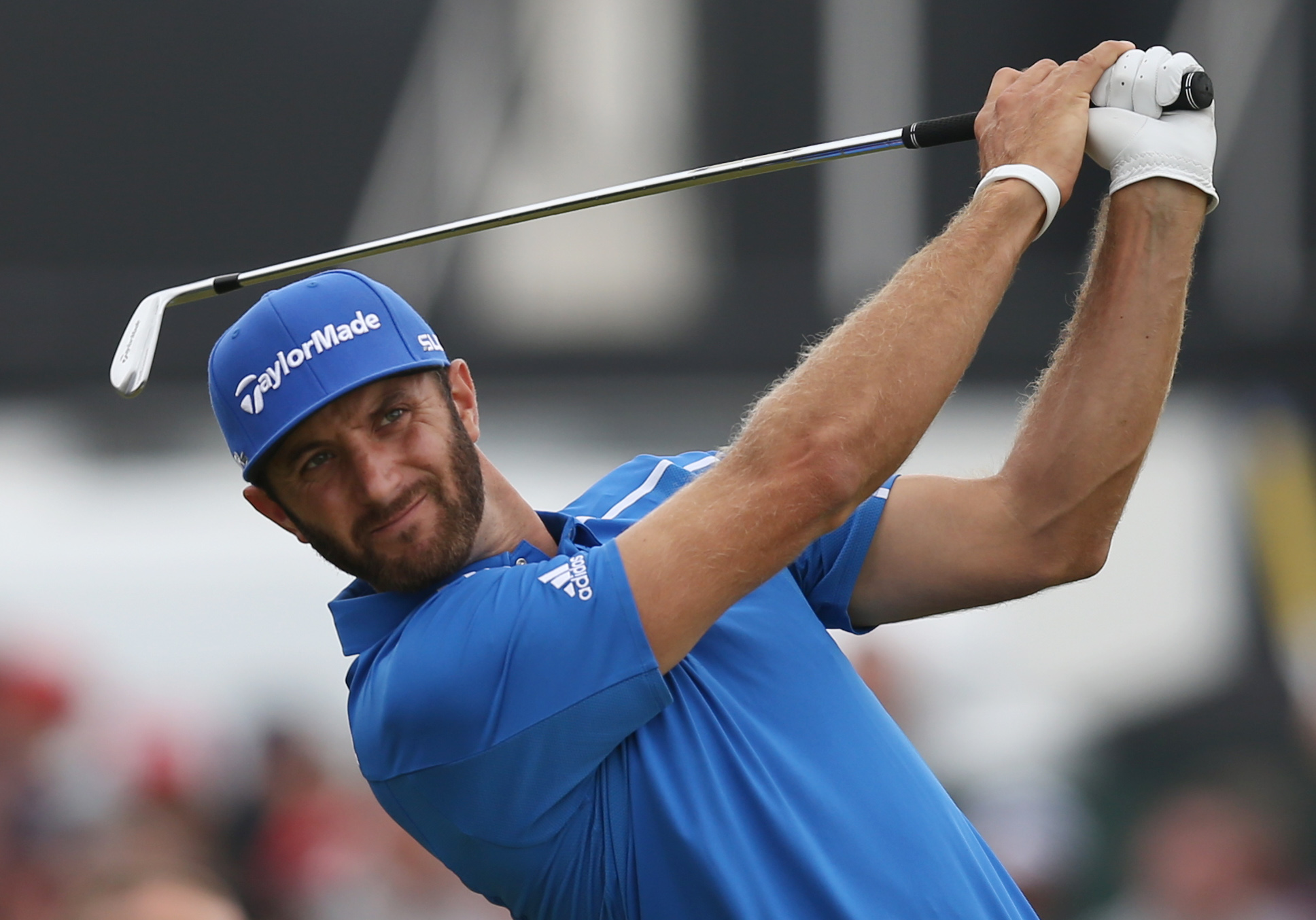Dustin Johnson will return to golf next month at the Farmers Insurance Open.