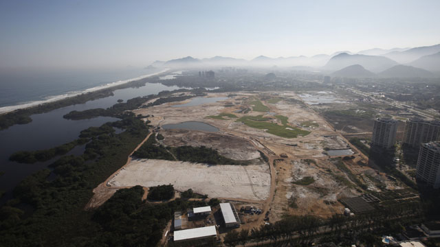 In November, a judge rejected a request to stop construction of the course over environmental concerns.