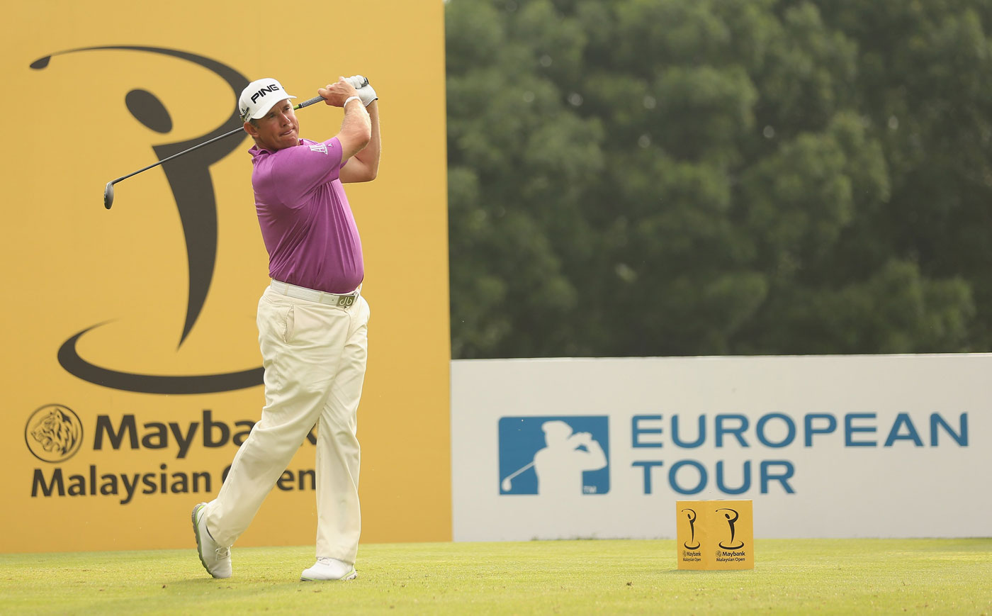 Lee Westwood is the defending champion at the Maybank Malaysian Open.