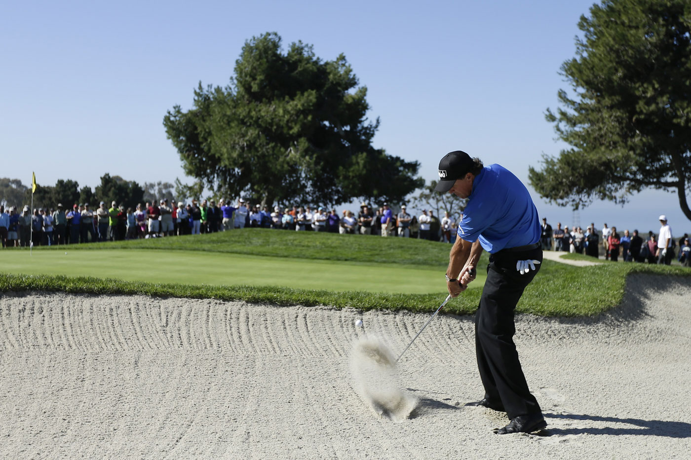 Phil Mickelson missed the cut after shooting 74-72. It was his second consecutive MC.