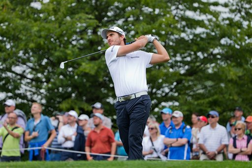 Spain's Alejandro Canizares  grabbed a share of the lead Friday.