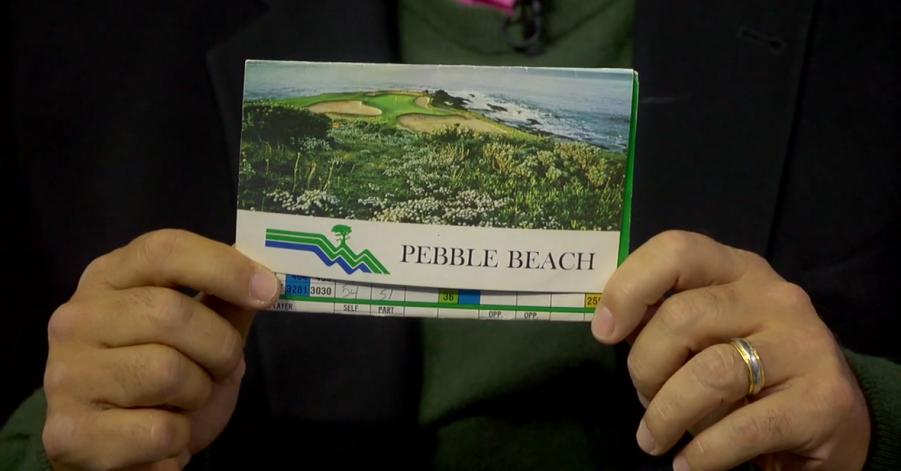 Travelin' Joe recounts his first round at Pebble Beach.