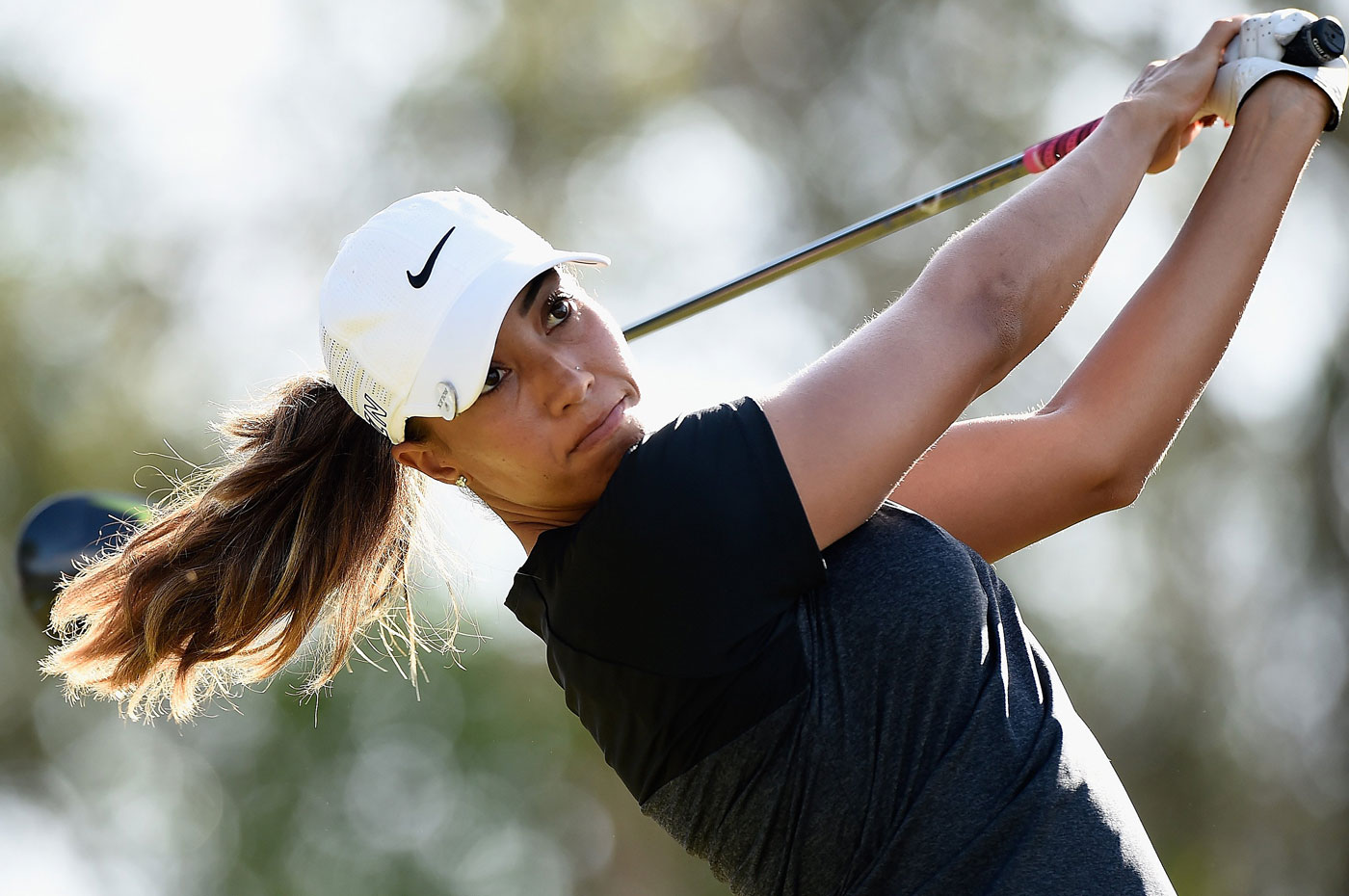 Cheyenne Woods is the defending champion at the Australian Ladies Masters