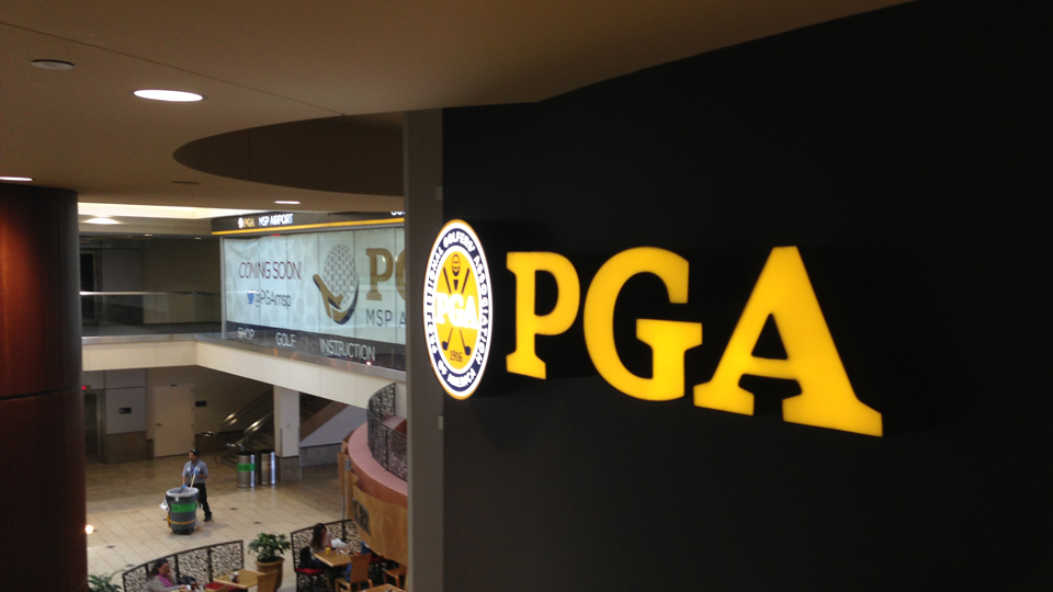 The PGA of America and Wexford Golf are collaborating to open a golf lifestyle facility in the Minneapolis-St. Paul International Airport in March.