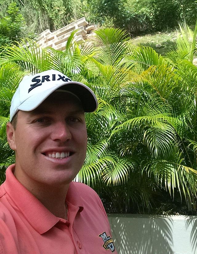 Mike Van Sickle in Puerto Rico.