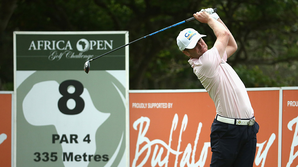Matt Ford shot a 66 to take the Africa Open lead.