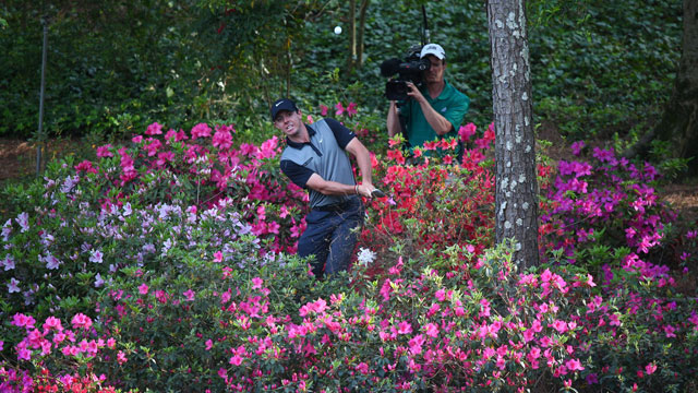 Rory McIlroy finished tied for 8th in the 2014 Masters.