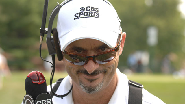 David Feherty has been a on-air commentator for CBS Sports and the Golf Channel since 1997.