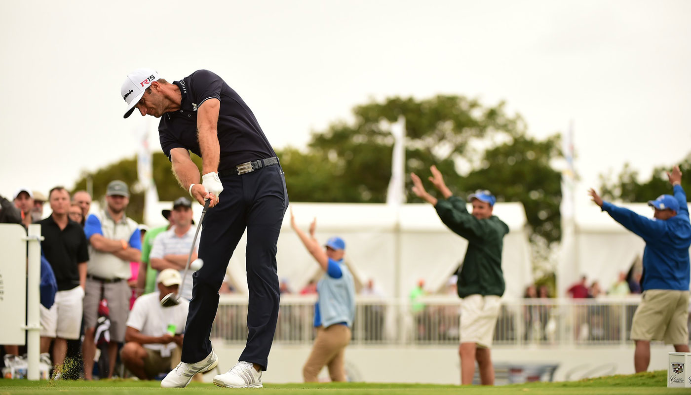 Dustin Johnson led the field at Doral in driving distance, averaging 328.3 yards off the tee.