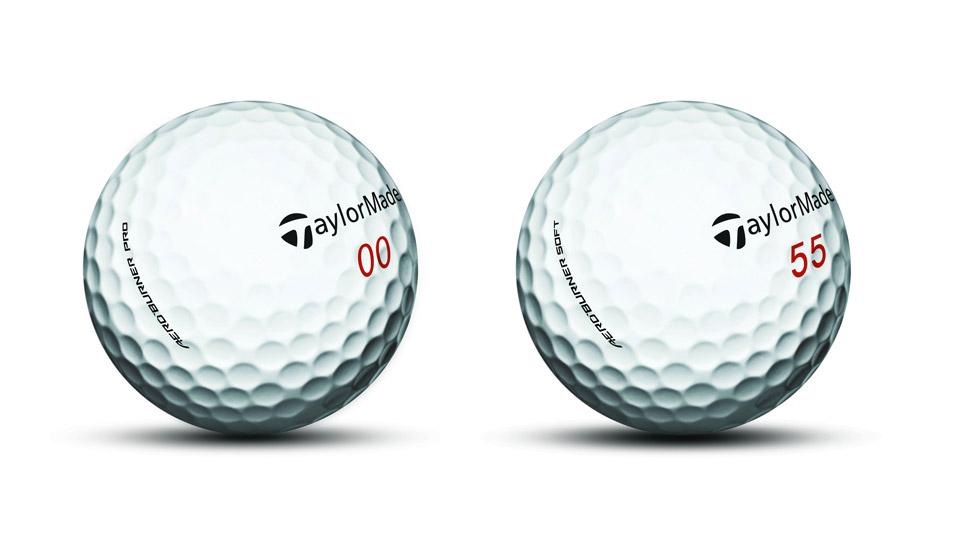 TaylorMade AeroBurner Golf Balls