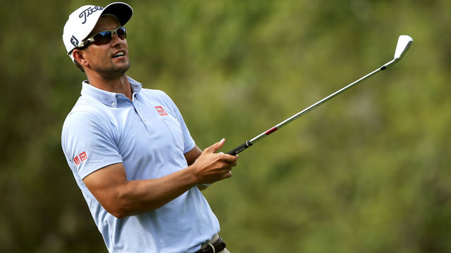 Adam Scott missed the cut at the Valspar -- his first MC in 45 events.