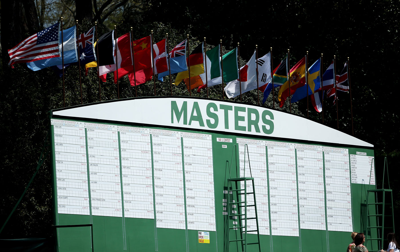 This year's Masters field could feature more than 100 players.