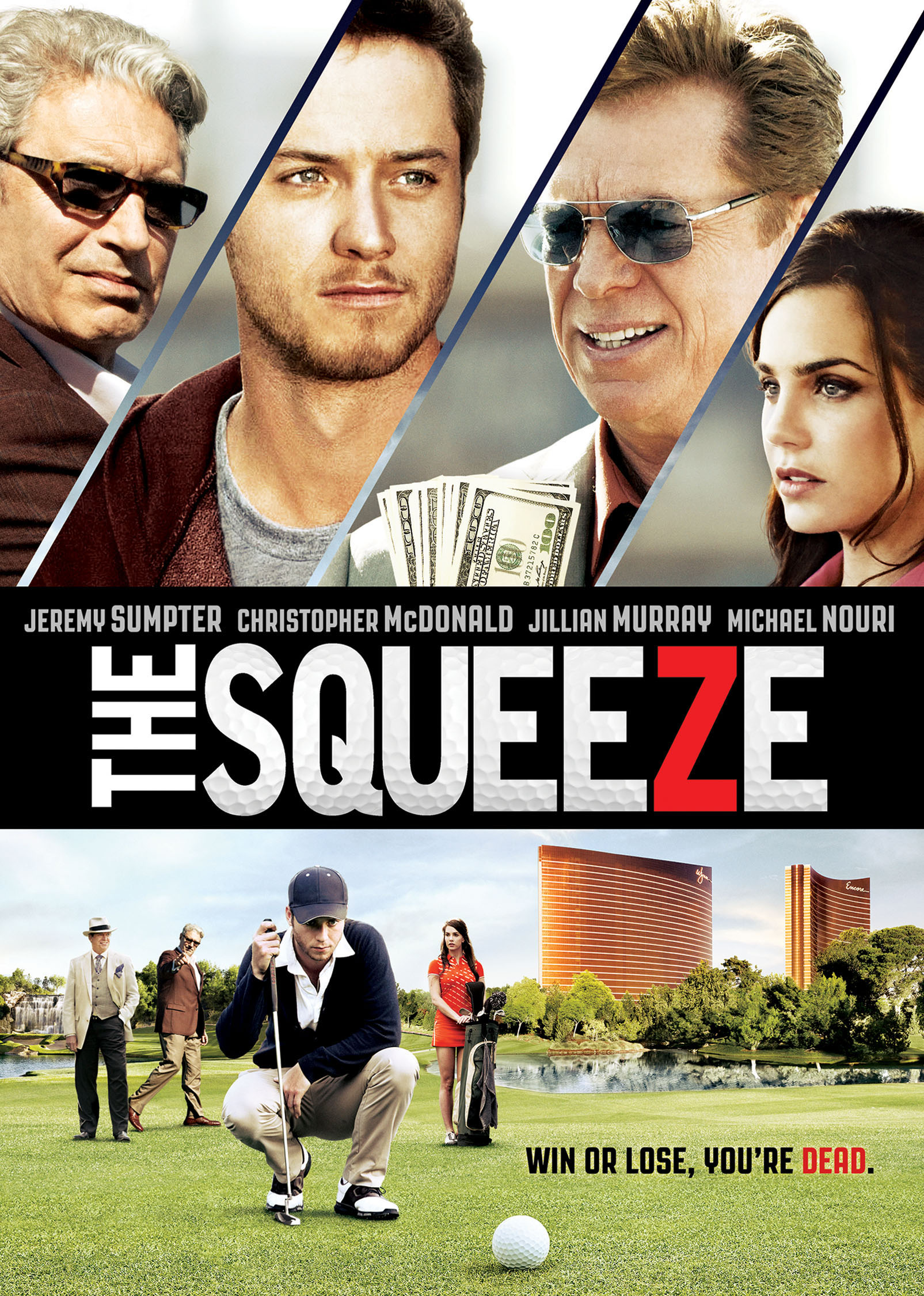 'The Squeeze,' a movie about a young golfer who gets caught up in the world of illegal gambling, hits theaters, VOD and iTunes April 17.