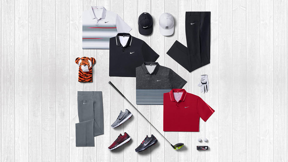 We know what Tiger will wear to the Masters, if he's there, that is.
