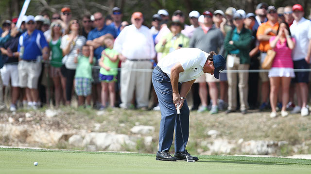 Mickelson's balky putter is not the only question mark in his game a week out from the Masters.