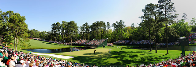 The 15th hole at Augusta National