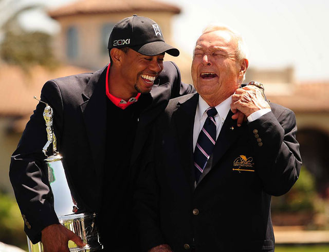 Woods has won The King's tournament a record eight times.