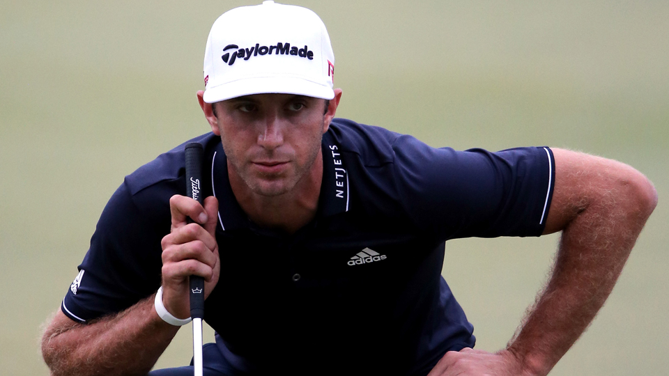 Dustin Johnson shot 68-68 over the weekend at Valero.