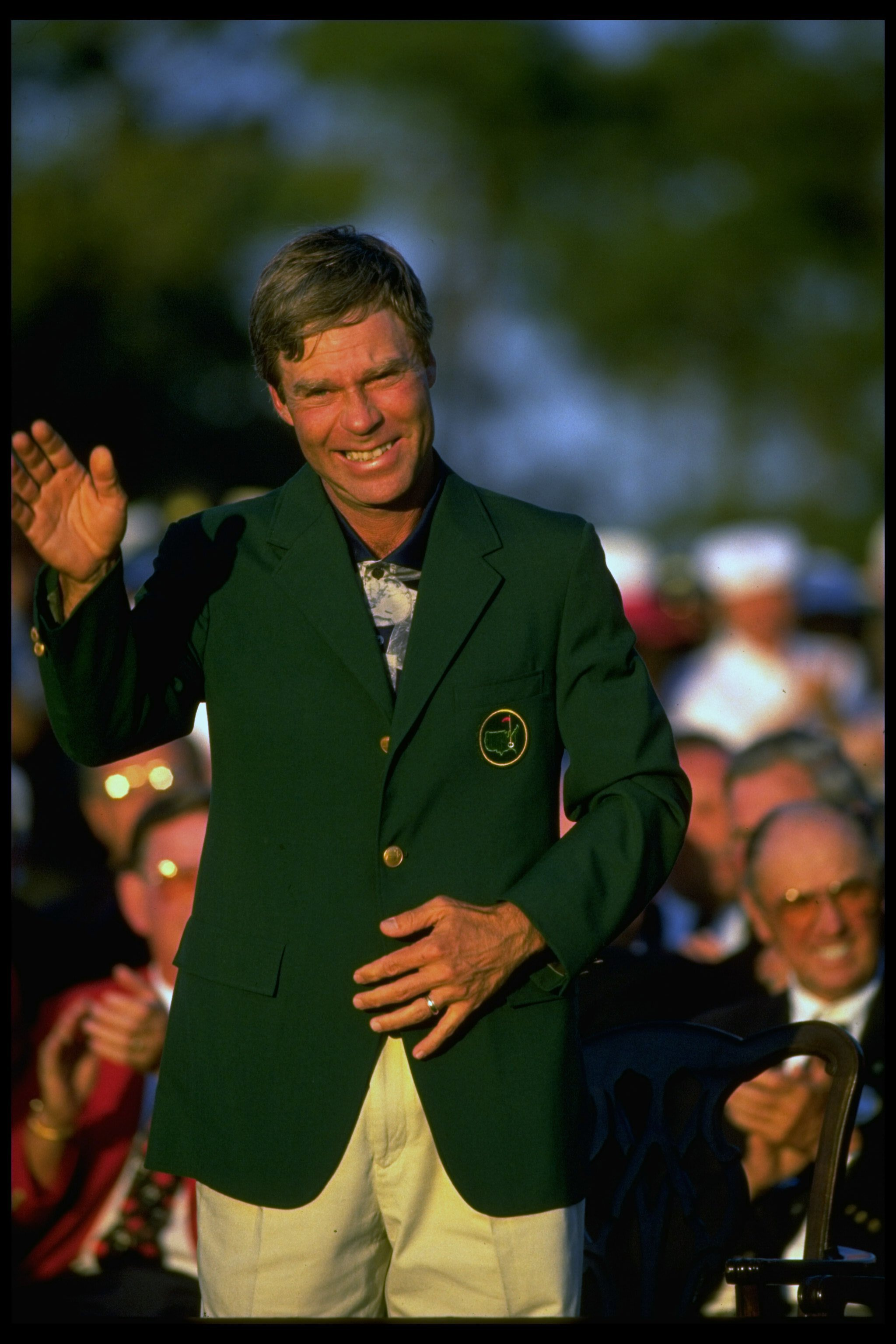 Crenshaw reveled in his 1995 victory, his second and last green jacket.