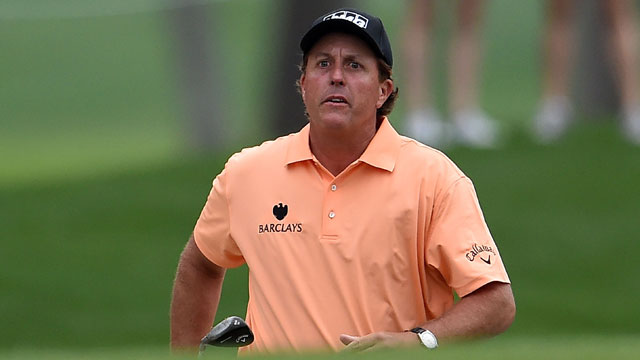 Phil Mickelson opened the Shell Houston Open with a 6-under round of 66.