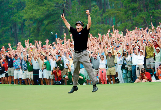 Phil Mickelson at the 2004 Masters