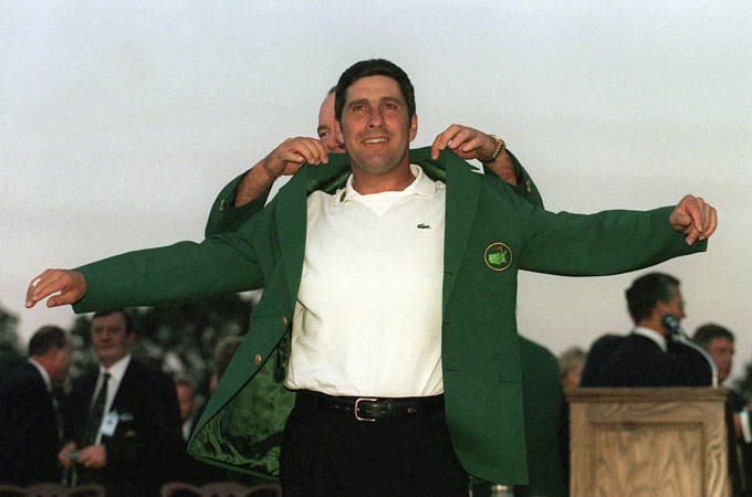 Jose Maria Olazabal at the 1999 Masters