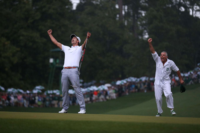 Adam Scott at the 2013 Masters
